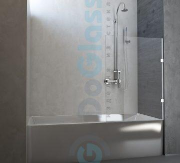 Шторка на ванну раздвижная модель 6002